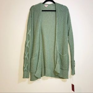 Mossimo Tie Sleeve Knit Cardigan - #1299